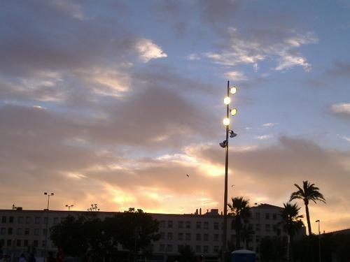 バルセロナの空①
